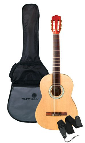 Westwood WWCG39 Full-size Classical Guitar with Bag and Strap by Westwood