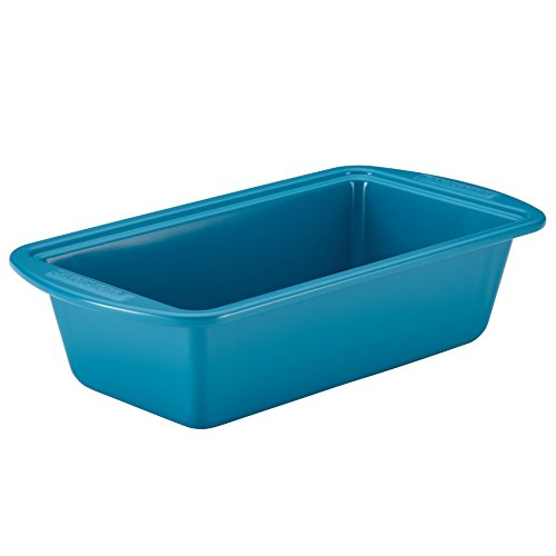 Blue Steel Bread Pan (SilverStone Hybrid Ceramic Nonstick Bakeware Steel Bread & Meat Loaf Pan, 9-Inch x 5-Inch, Marine)