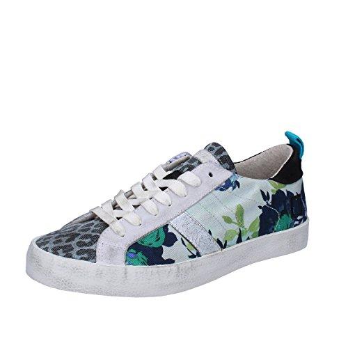 D.A.T.E.. (Date Sneakers Femme 37 EU Multicolor Daim Textile