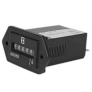 Contador de horas electromecánico (100 a 250 V): Amazon.es ...