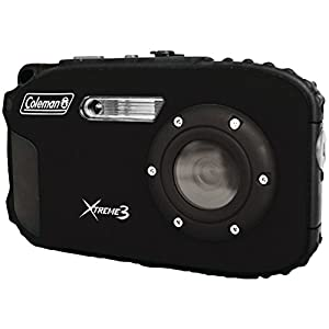 Coleman C9WP-BK Xtreme3 20 MP Waterproof Digital Camera with Full 1080p HD Video (Black)