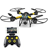 Drone with Camera, Wrcibo Q20 RC Quadcopter 720P Live Video with Altitude Hold Function 18 Mins Flying Time WiFi Quadcopter Headless Mode for Beginners