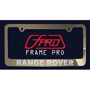 Amazon.com: Genuine Land Rover/Range Rover Black Jack License Plate ...