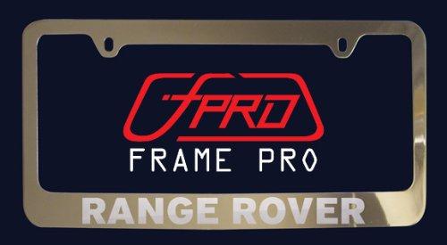 Amazon.com: Land Rover Range Rover License Plate Frame (Zinc Metal ...