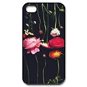 LTEyAGm312OpPtQ Protector Diy For HTC One M7 Case Cover Beautiful Rose Pink Green Nature Flower Case