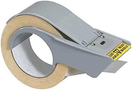 "Tape Logic Tape Logic Economy Strapping Tape Dispenser, 2"", Gray, 1/Each, (Pack of 5)"