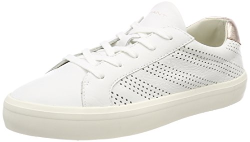 Blanc Baskets Mary Femmes Gant (blanc Brillant)