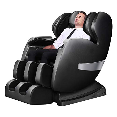 (Ootori Massage Chair Deluxe S-Track Recliner Zero Gravity Full Body Air Massage with 3D Robot Hand, Stretched Tapping Mode Heating Back and Foot Massage Therapy)