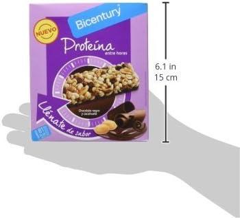 Bicentury - Barrita de proteína sabor a chocolate