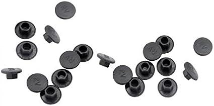 20X Black Hex Socket Allen Bolt Screw Nut Hexagon Head Cover Cap Protector Z8