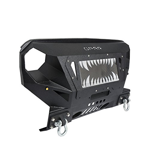 Opar Textured Steel Front Bumper Amp Grille Guard For 07 17