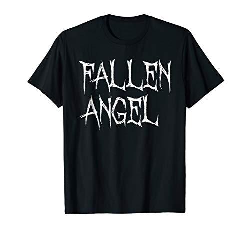 Fallen Angel Satanic Goth Punk Graphic T-Shirt Top -