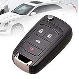 4 Buttons Car Key Fob Cover Case Shell for Chevrolet Chevy Cruze 2010 2012 2011 2014 Camaro Impala Aveo Epica Lova Flip Remote Key housing