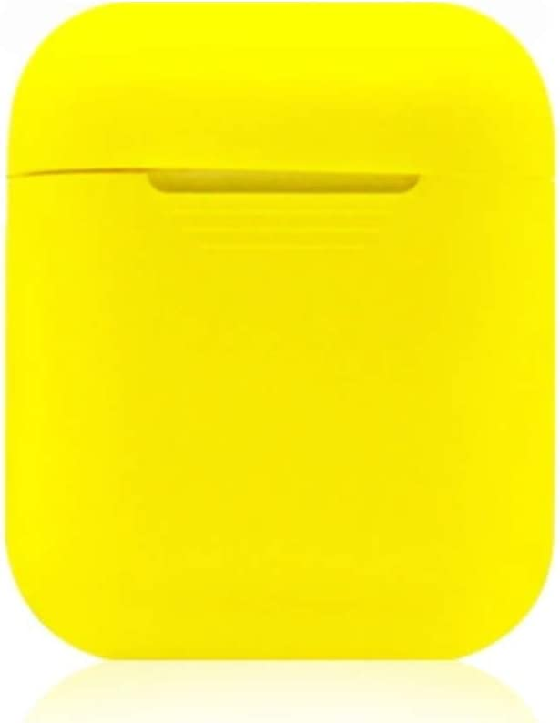 Airpod Case - Protective Silicone Skin- Shock Resistant and Waterproof (Yellow)