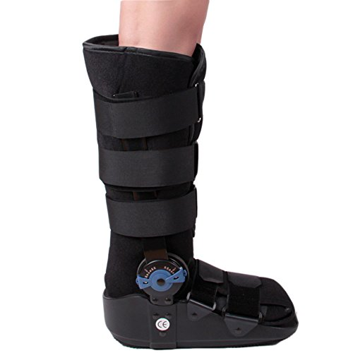 Pneumatic ROM Walker Fracture Walker Boot Medical Walking Boots Achilles Tendon Surgery Acute Ankle Injuries Sprains Inflatable Supports (Small) by Orthokong (Image #1)