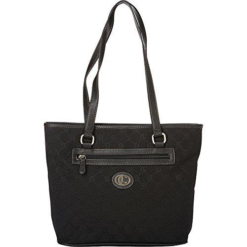 aurielle-carryland-classic-signature-jacquard-tote-black-black