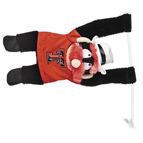 BSI NCAA Texas Tech Red Raiders 3D Mascot Car Flag