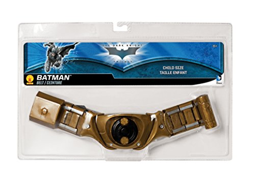 Batman: The Dark Knight Rises: Batman Utility Belt, Child Size (Gold) - Superman Costume Party City