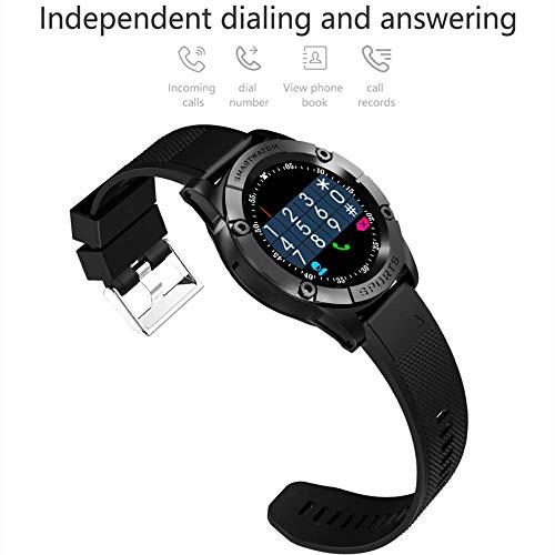 RTGFS Smart Watch Herren Telefon Unterstützung SIM TF Karte Schrittzähler HD Runde Kamera Bluetooth Smartwatch Fitness…