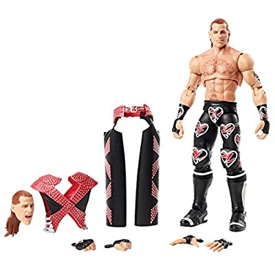 WWE Ultimate Edition 6-inch Action Figure, Shawn Michaels, Multi, Model:GLF69: Toys & Games