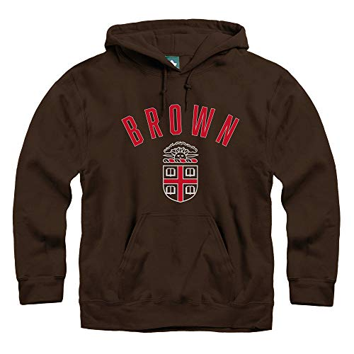 Ivysport Brown University Hooded Sweatshirt, Legacy, Brown, Small ()