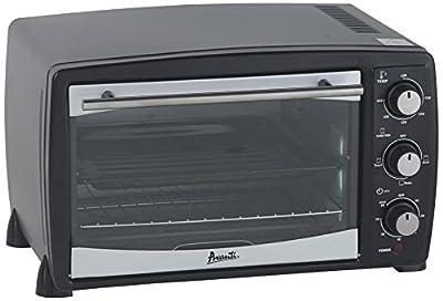 Avanti PO81BA Countertop Oven/Broiler, 0.8 cu. ft., Black