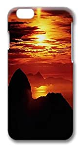 iphone 6 plus 5.5inch Case and Cover Sunset PC case Cover for iphone 6 plus 5.5inch