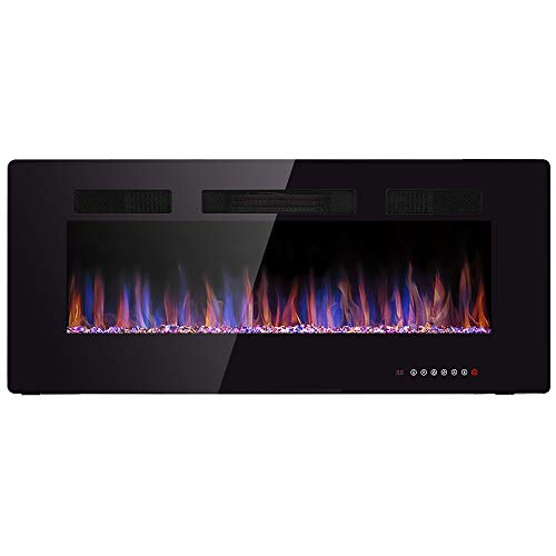 42 electric wall fireplace - 6