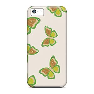 CaroleSignorile Iphone 5c Well-designed Hard Cases Covers Butterfly Protector