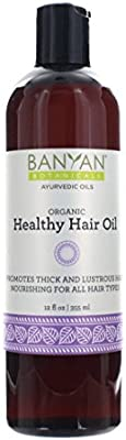 Banyan Botanicals Healthy Hair Oil Organic Herbal Oil With Bhringaraj Amla Ayurvedic Hair Care For