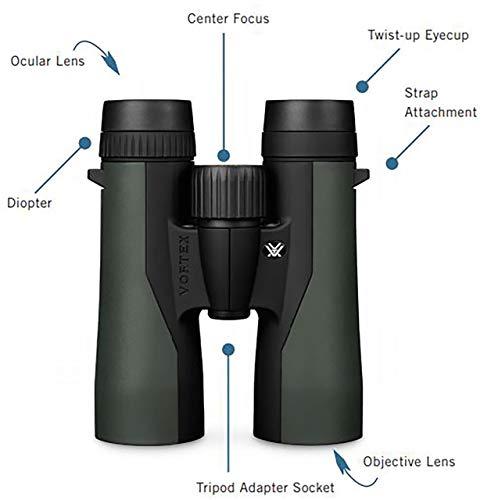 Vortex Optics Crossfire Roof Prism Binoculars 10×42
