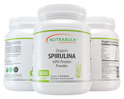 NutraBulk Organic Spirulina Powder – 1 Kilogram (2.2lbs) Review