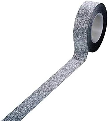 1Pc Glitter Sticky Paper Masking Adhesive Tape Photos Gifts Wall Decorative