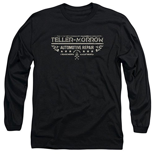 Long Sleeve: Sons Of Anarchy - Teller Morrow Longsleeve Shirt Size XXL