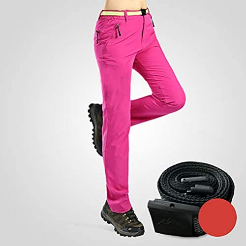 XYZLEO Pantalones De Trekking Respirable Pantalones De ...