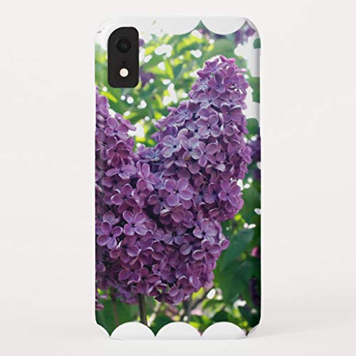 Case Mate Ipod Touch - Zazzle Purple Lilacs Itouch Case Case-Mate Barely There Apple iPhone XR Case