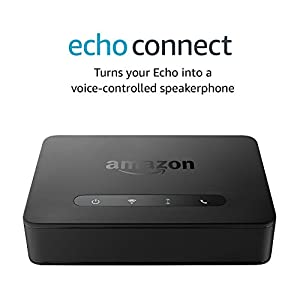 Echo Connect – requires Echo device, home phone service, and smartphone for set up