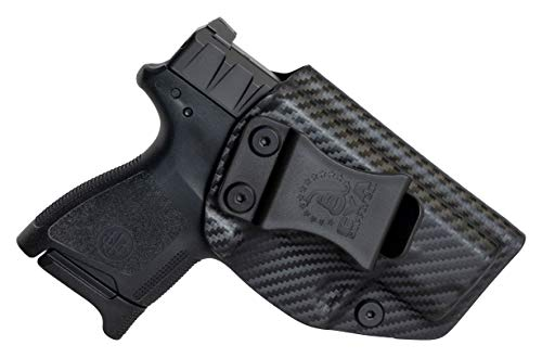 CYA Supply Co. Inside Waistband Holster Concealed Carry IWB Veteran Owned Company (Carbon Fiber