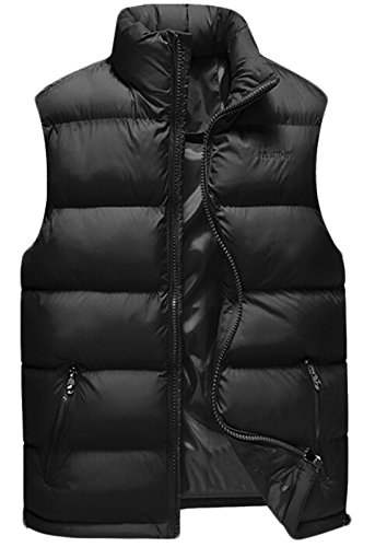 Quilted Down Vest - 9