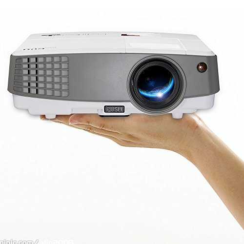 2018 Portable LCD Projector Multimedia HDMI 2600 Lumen Gaming Projectors Home Theater Outdoor Movies Support Full HD 1080P 720P