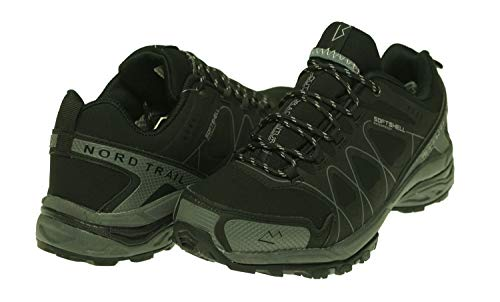 Nord Trail Men's Mount Hood Low Boots Black/Charcoal 10 M US