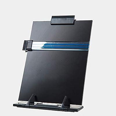 "Hanghs Desktop Document Book Holder with 7 Adjustable Positions, 13.9"" x 8.2"" (Black)"
