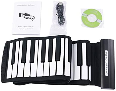 YRXX Silicone Portable Piano USB 88 Keys MIDI Roll Up Electronic Piano Keyboard Silicone Flexible Professional for Children Kids Beginners / YRXX Silicone Portable Piano USB 88 Keys MIDI Roll Up Electronic Piano Keyboard Silicone F...