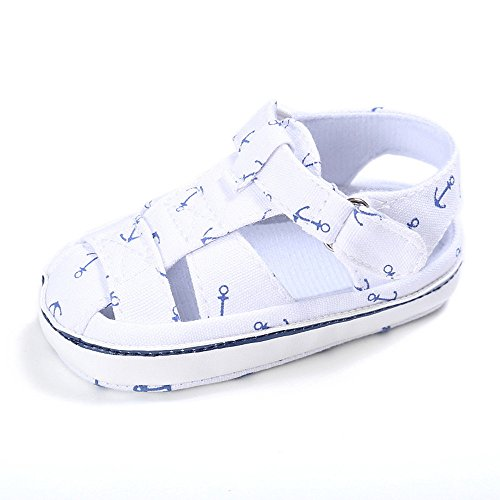 Unisex Baby Shoes Infant Toddler Footwear Soft Sole Anti-Slip Prewalker Shoes Handmade,Comfy,White (Hard Plastic Walker)