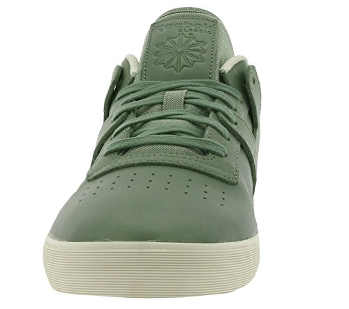 ed97a5e7ec9bd Reebok Classic Workout Low Clean FVS LUX Sneaker Green M49377