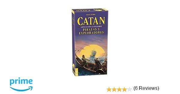 Devir - Catan, Piratas y Exploradores, juego de mesa (BGPIR56 ...