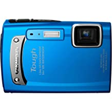 Olympus TG-310 14 MP Digital Camera with 3.6x Optical Zoom, Waterproof, Shockproof, Freezer Proof (Blue)