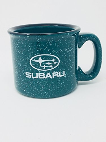 - Outdoor Gear Subaru Campfire Ceramic 15oz Coffee Mug Sti Legacy Forester Impreza Cup Green Speckle Genuine
