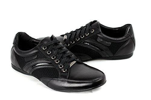 Hombres Con Cordones Italian Zapatillas Casual Piel Sintética Zapatos Diseñador Deporte Nuevo Talla
