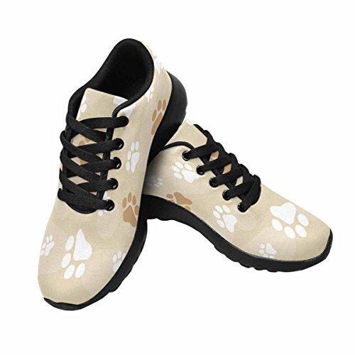 Scarpa Da Jogging Leggera Da Donna Running Running Leggera Easy Go Walking Comfort Sportivo Scarpe Da Ginnastica Zampa Di Cane Multi Stampe 1